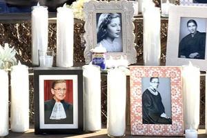 RBG memorial close-up