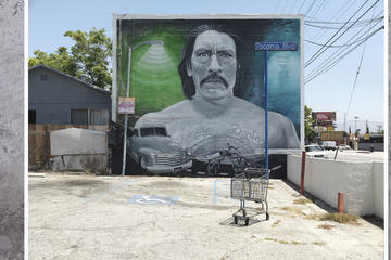 "Ken Gonzales-Day, ""Danny,"" mural by Levi Ponce, Van Nuys Blvd., Pacoima, 2013."