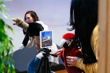 Teaching Through Storytelling Puppet