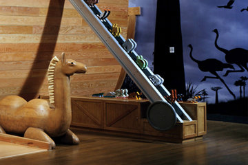 Noah's Ark wooden camel