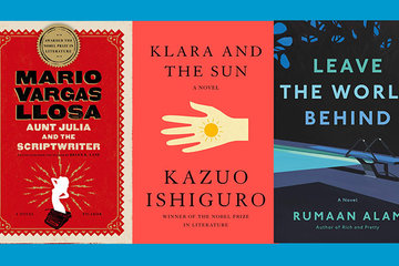 Collection of books featured in the Skirball's 2021 Fall/Winter Book Group