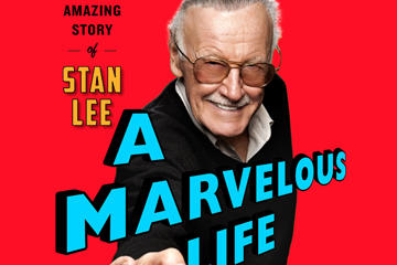stan lee marvelous life book cover