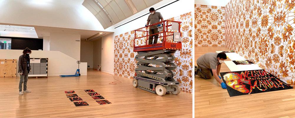 "Assembling ""Ai Weiwei: Trace"" at the Skirball"
