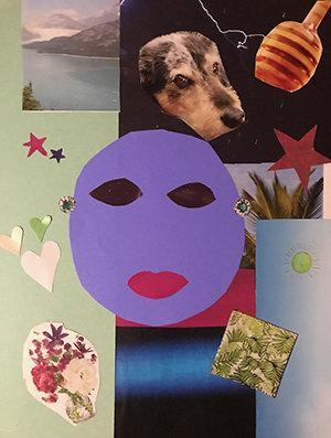 Kayle self portrait collage